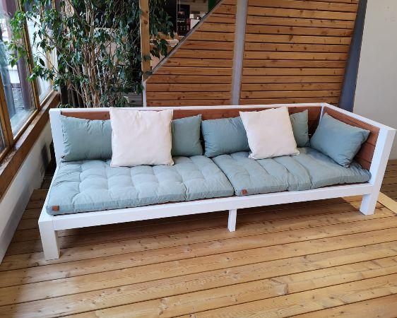 Gartenmöbel Lounge im Systemholz Fachcenter Altenstadt